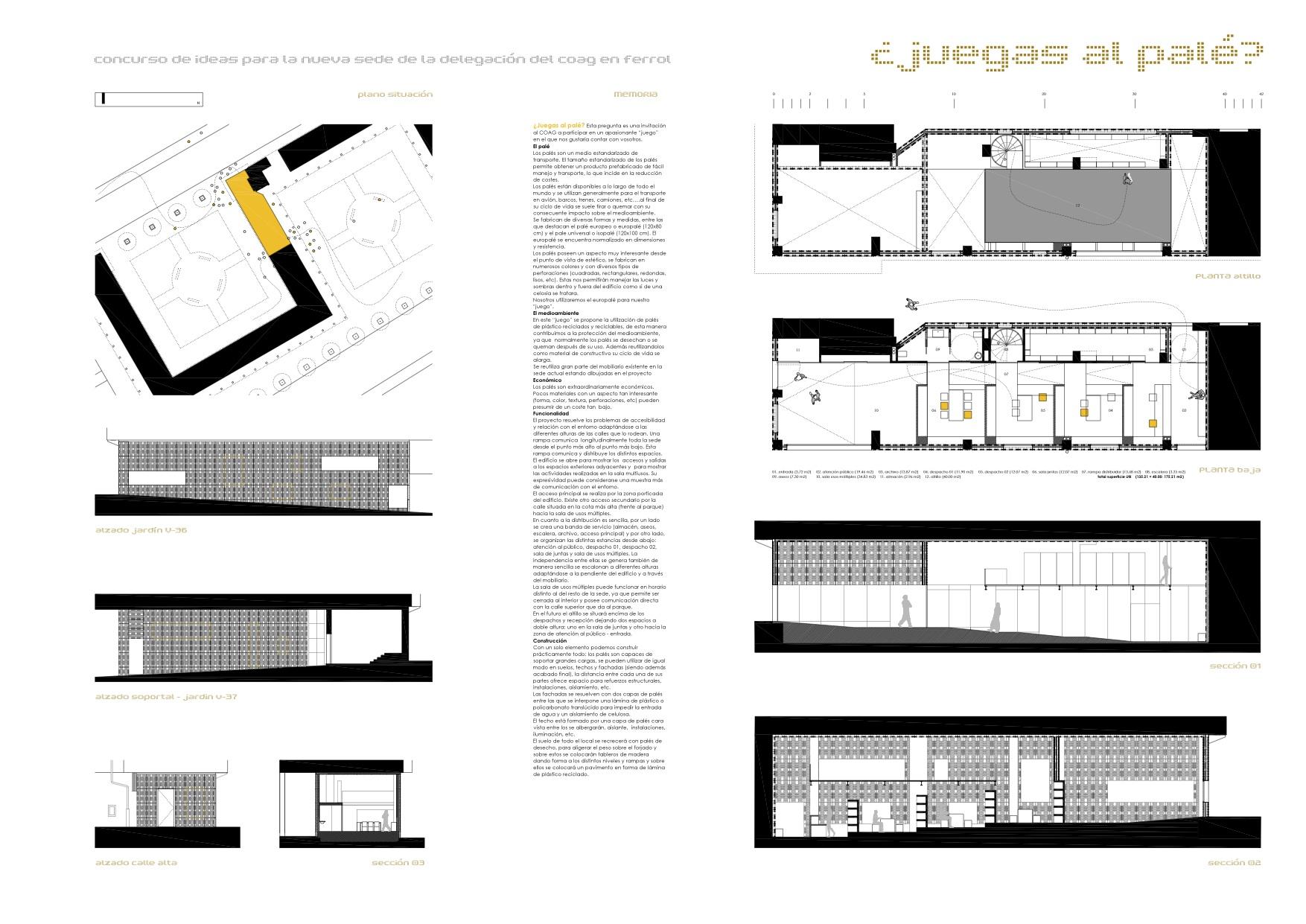 Delegaci n del coag ferrol 2es oficina de arquitectura - Arquitectos ferrol ...